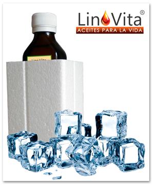 Aceites LinoVita prensados en frío sin filtrar