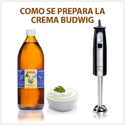 Como se prepara la Crema Budwig