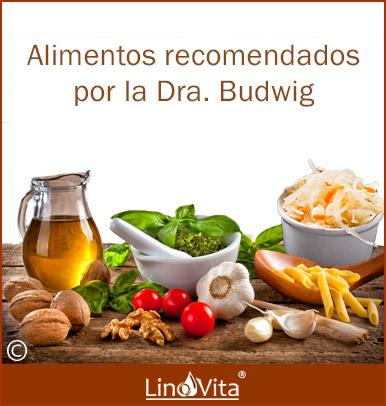 alimentos recomendados por Doctora Budwig