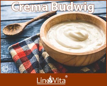 crema Budwig pasta Budwig protocolo Budwig