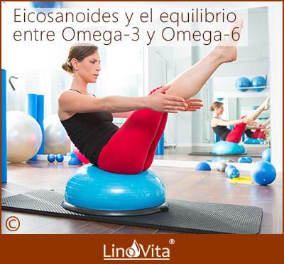 Eicosanoides buenos y malos y equilibrio entre Omega 3 y Omega 6