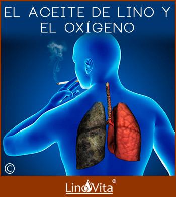 aceite de lino y oxigeno crema Budwig es muy beneficioso para los fumadores