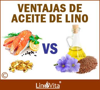 Ventajas de aceite de lino sobre otras fuentes de omega 3 de pescado