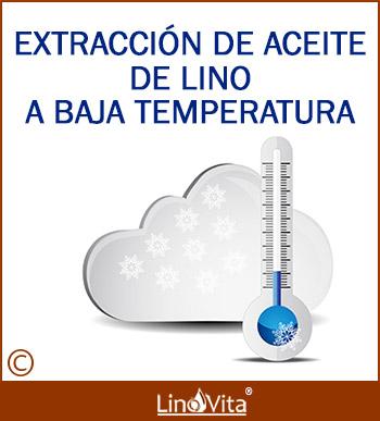 Extracción de aceite de lino a baja temperatura y prensado en frio