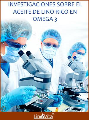 Investigacion sobre aceite de lino rico en omega 3
